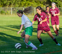 7625 Girls JV Soccer v NW-School 100814