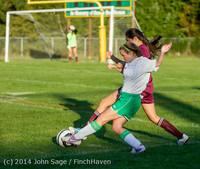 7628 Girls JV Soccer v NW-School 100814