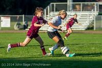 7643 Girls JV Soccer v NW-School 100814
