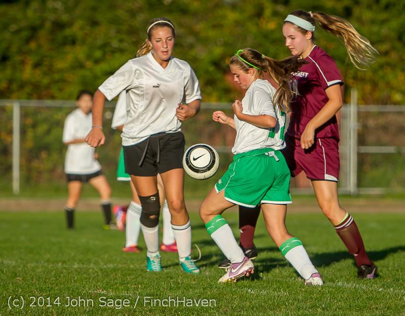 7718 Girls JV Soccer v NW-School 100814