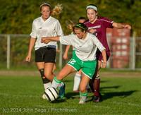 7721 Girls JV Soccer v NW-School 100814