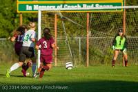 7761 Girls JV Soccer v NW-School 100814