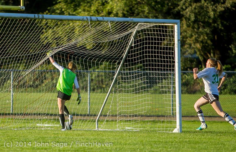 7845 Girls JV Soccer v NW-School 100814