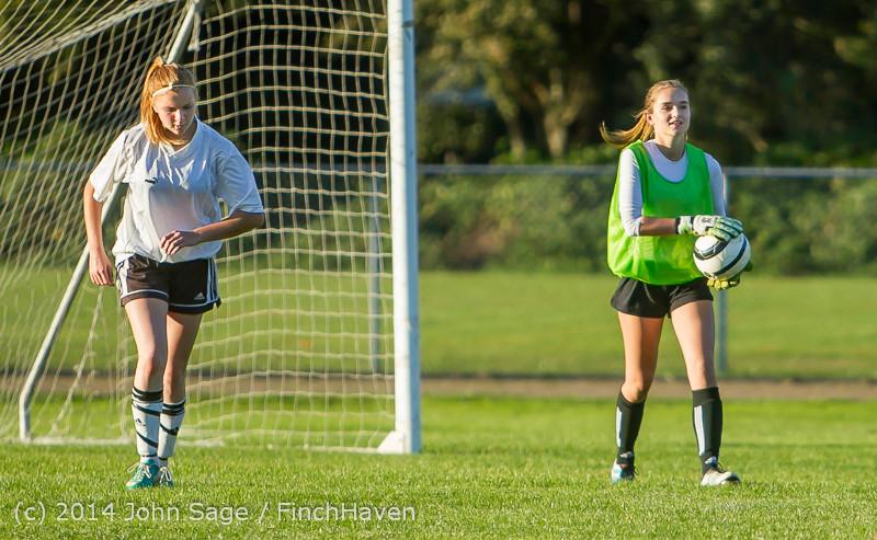 7863 Girls JV Soccer v NW-School 100814