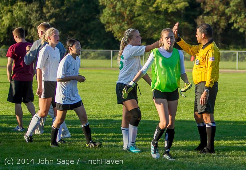 7954 Girls JV Soccer v NW-School 100814