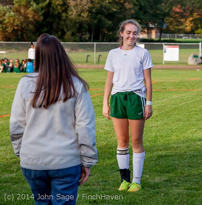 7710 VHS Girls Soccer Seniors Night 2014 101614