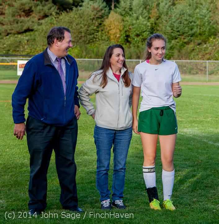 7717 VHS Girls Soccer Seniors Night 2014 101614