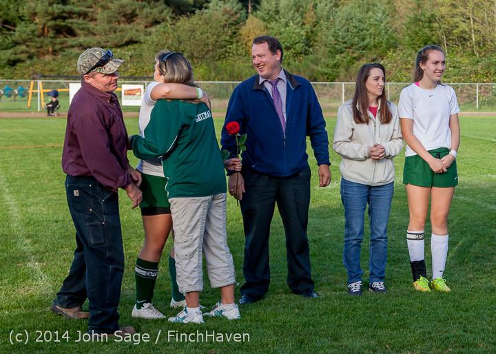 7735 VHS Girls Soccer Seniors Night 2014 101614