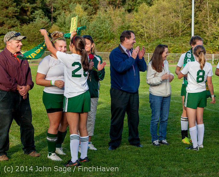 7760 VHS Girls Soccer Seniors Night 2014 101614