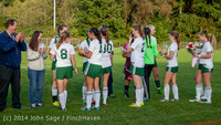 7761 VHS Girls Soccer Seniors Night 2014 101614