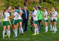 7763 VHS Girls Soccer Seniors Night 2014 101614
