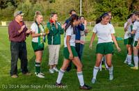 7769 VHS Girls Soccer Seniors Night 2014 101614