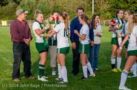 7776 VHS Girls Soccer Seniors Night 2014 101614