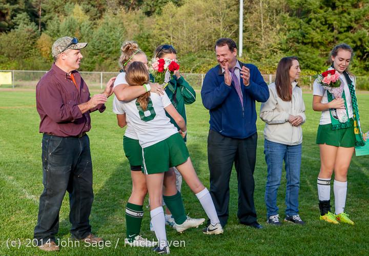 7782 VHS Girls Soccer Seniors Night 2014 101614