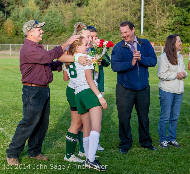 7783 VHS Girls Soccer Seniors Night 2014 101614