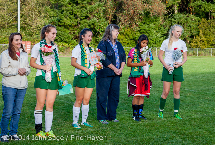7789 VHS Girls Soccer Seniors Night 2014 101614