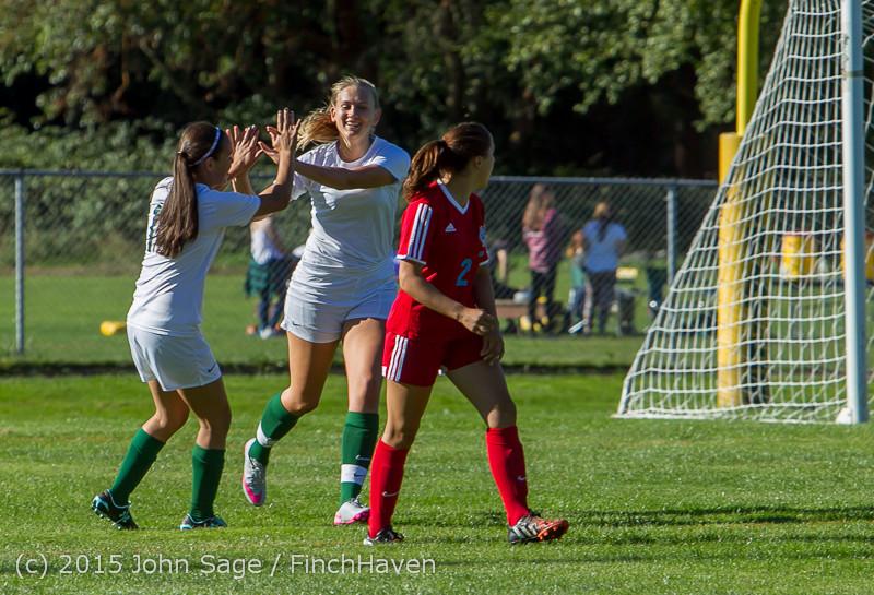 1162 Girls Soccer v Chief-Sealth 090915