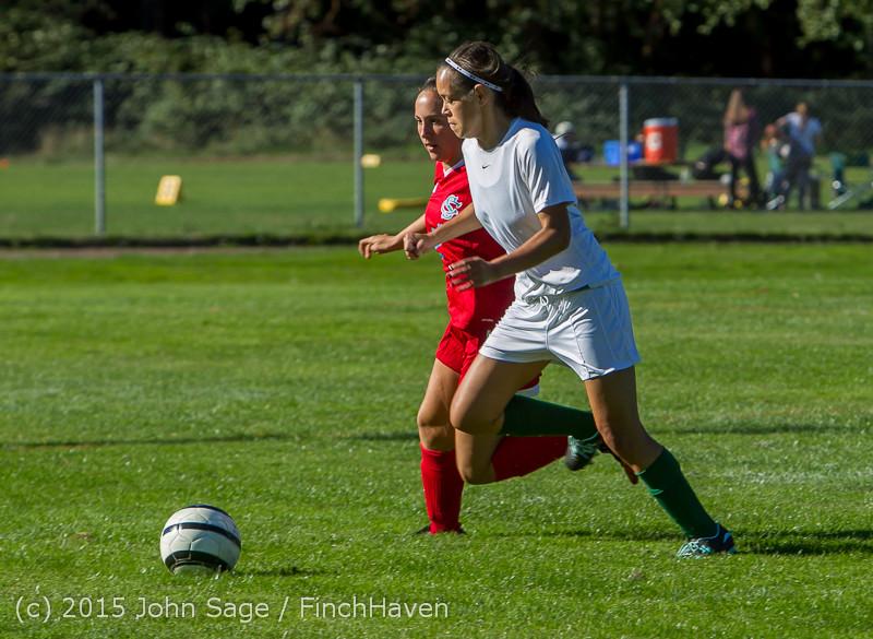 1191 Girls Soccer v Chief-Sealth 090915
