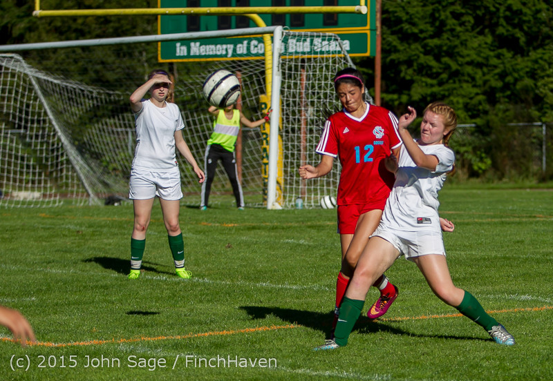 1215 Girls Soccer v Chief-Sealth 090915