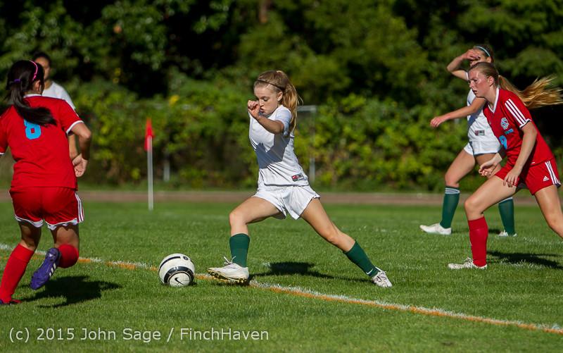 1277 Girls Soccer v Chief-Sealth 090915