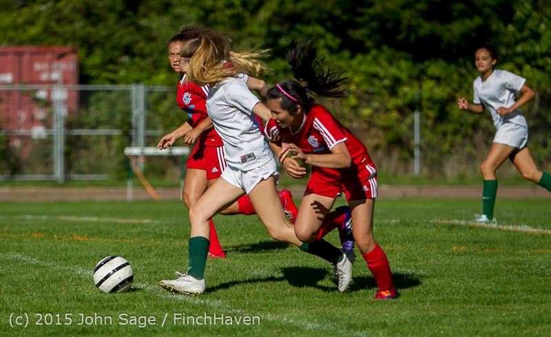 1283 Girls Soccer v Chief-Sealth 090915
