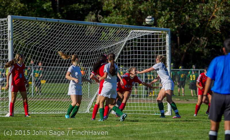 1307 Girls Soccer v Chief-Sealth 090915