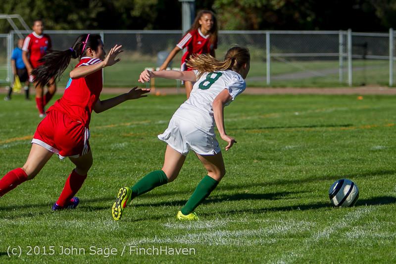 1366 Girls Soccer v Chief-Sealth 090915
