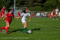 1583 Girls Soccer v Chief-Sealth 090915
