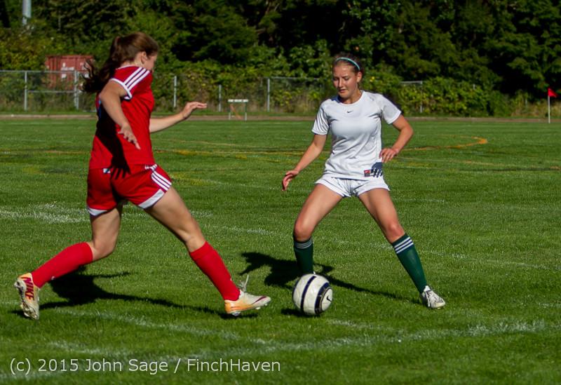 1617 Girls Soccer v Chief-Sealth 090915