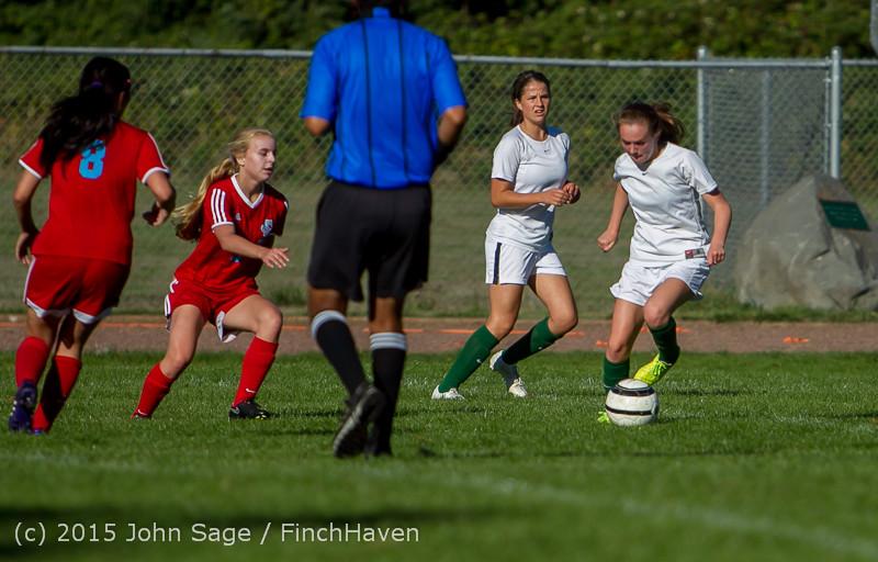 1651 Girls Soccer v Chief-Sealth 090915