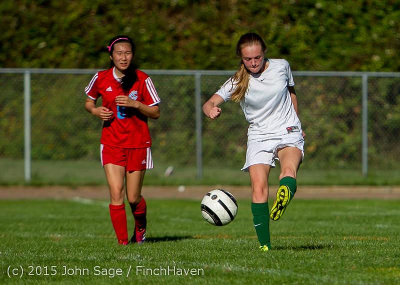 1745 Girls Soccer v Chief-Sealth 090915