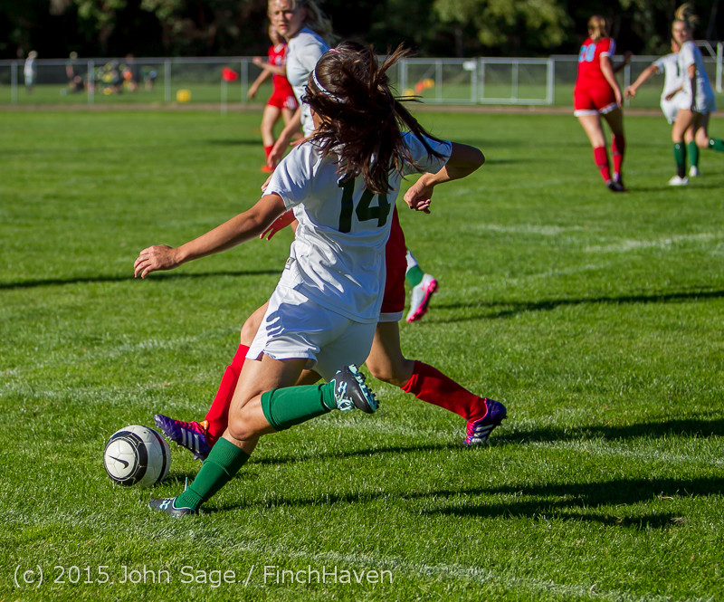 1969 Girls Soccer v Chief-Sealth 090915