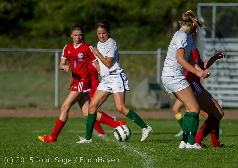 2100 Girls Soccer v Chief-Sealth 090915