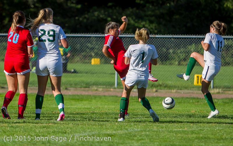 2141 Girls Soccer v Chief-Sealth 090915