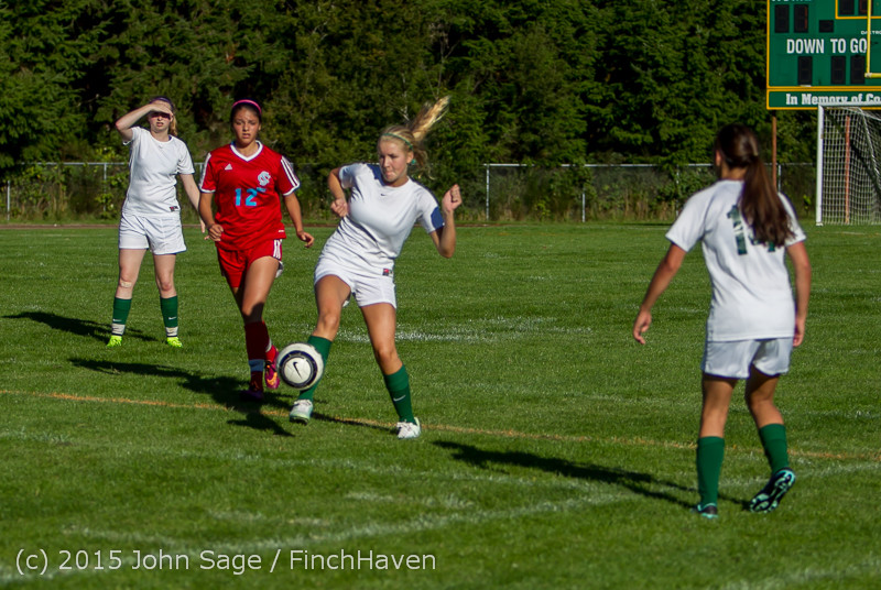 2160 Girls Soccer v Chief-Sealth 090915