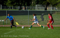 2521 Girls Soccer v Chief-Sealth 090915