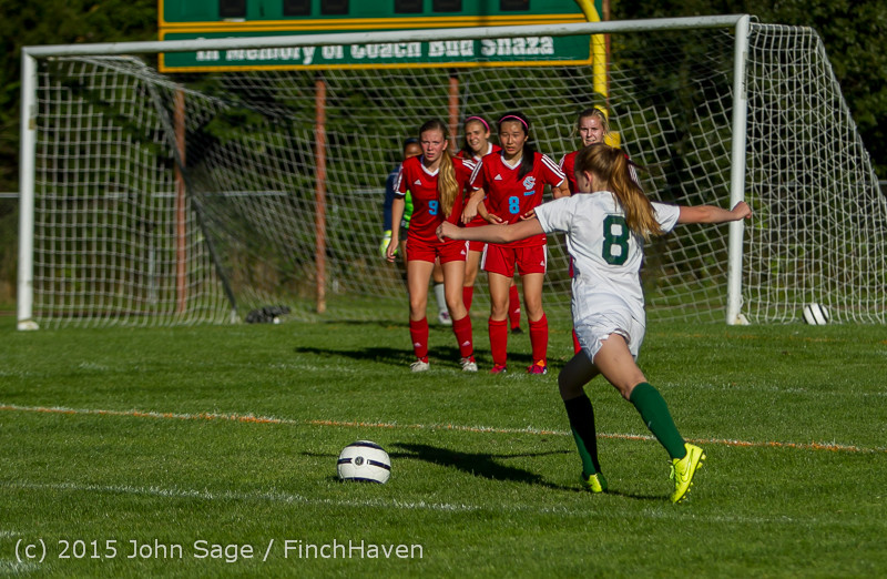 2565 Girls Soccer v Chief-Sealth 090915