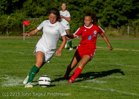 3215 Girls Soccer v Chief-Sealth 090915