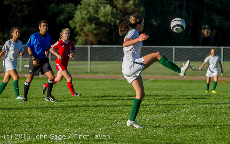 3531 Girls Soccer v Chief-Sealth 090915