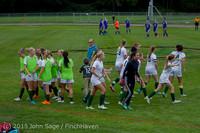20608 Girls Soccer v Hazen 091615