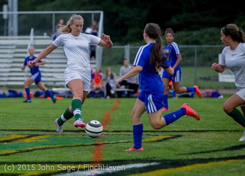 20718 Girls Soccer v Hazen 091615