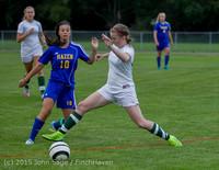 20774 Girls Soccer v Hazen 091615