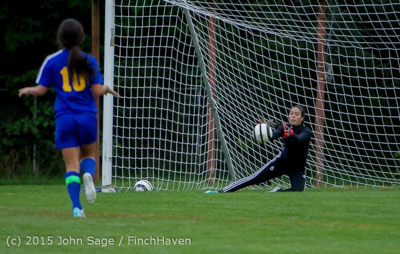 20808 Girls Soccer v Hazen 091615