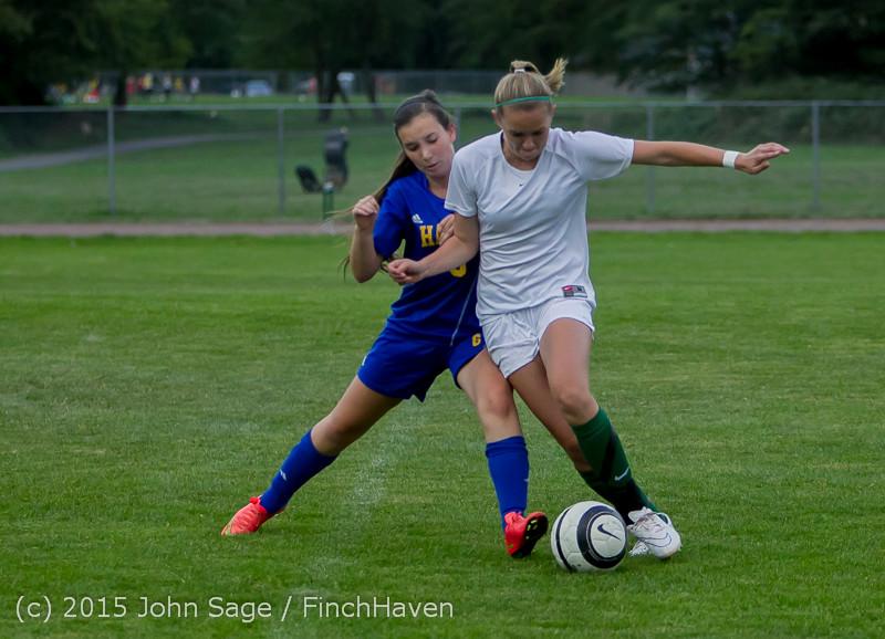20896 Girls Soccer v Hazen 091615