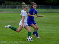 21048 Girls Soccer v Hazen 091615