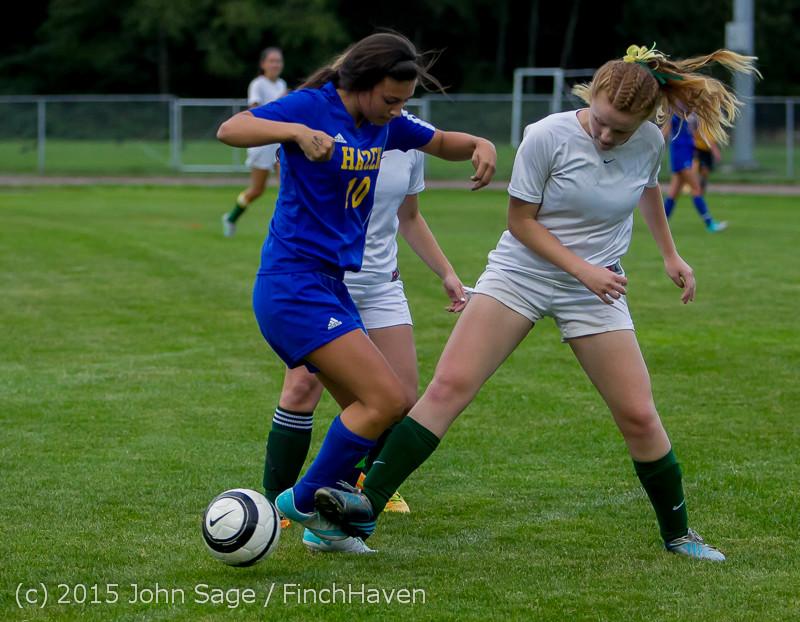 21088 Girls Soccer v Hazen 091615