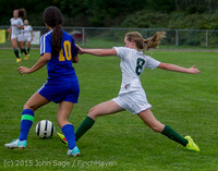21141 Girls Soccer v Hazen 091615
