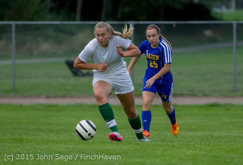21171 Girls Soccer v Hazen 091615