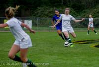 21211 Girls Soccer v Hazen 091615