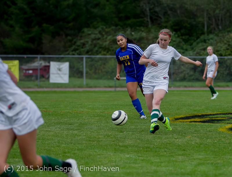 21213 Girls Soccer v Hazen 091615